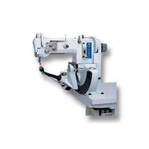 Máquina para costura lateral en calzado